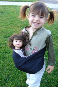 Children's Doll Baby Sling Picture